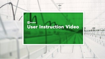 User instruction video,  instruction video, still shot,
